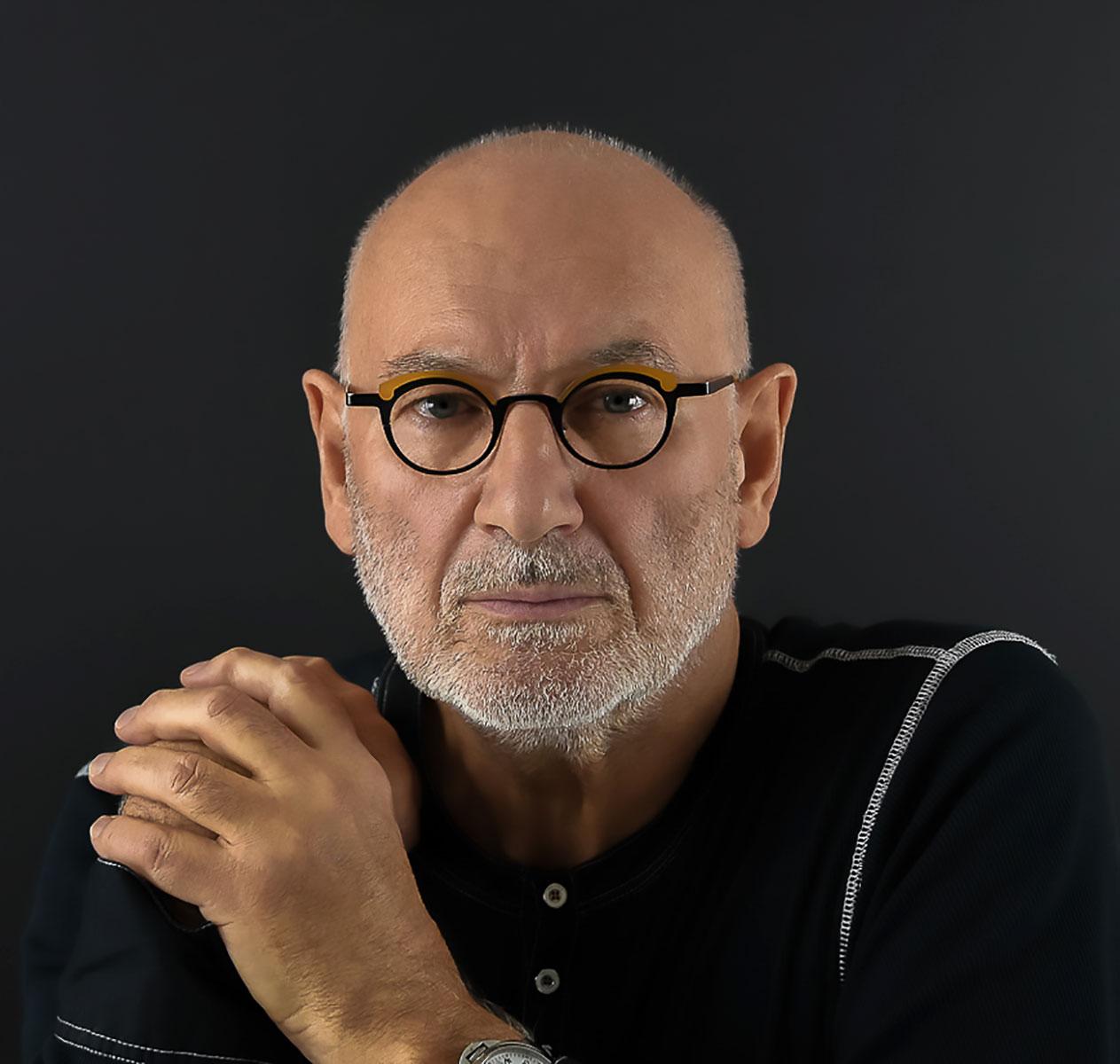 Portrait de Michel Rey en 2020 par Eva Bec L'Horset